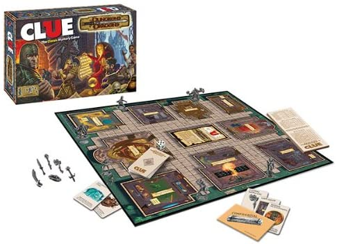 CLUE Dungeons & Dragons 2014 TPO