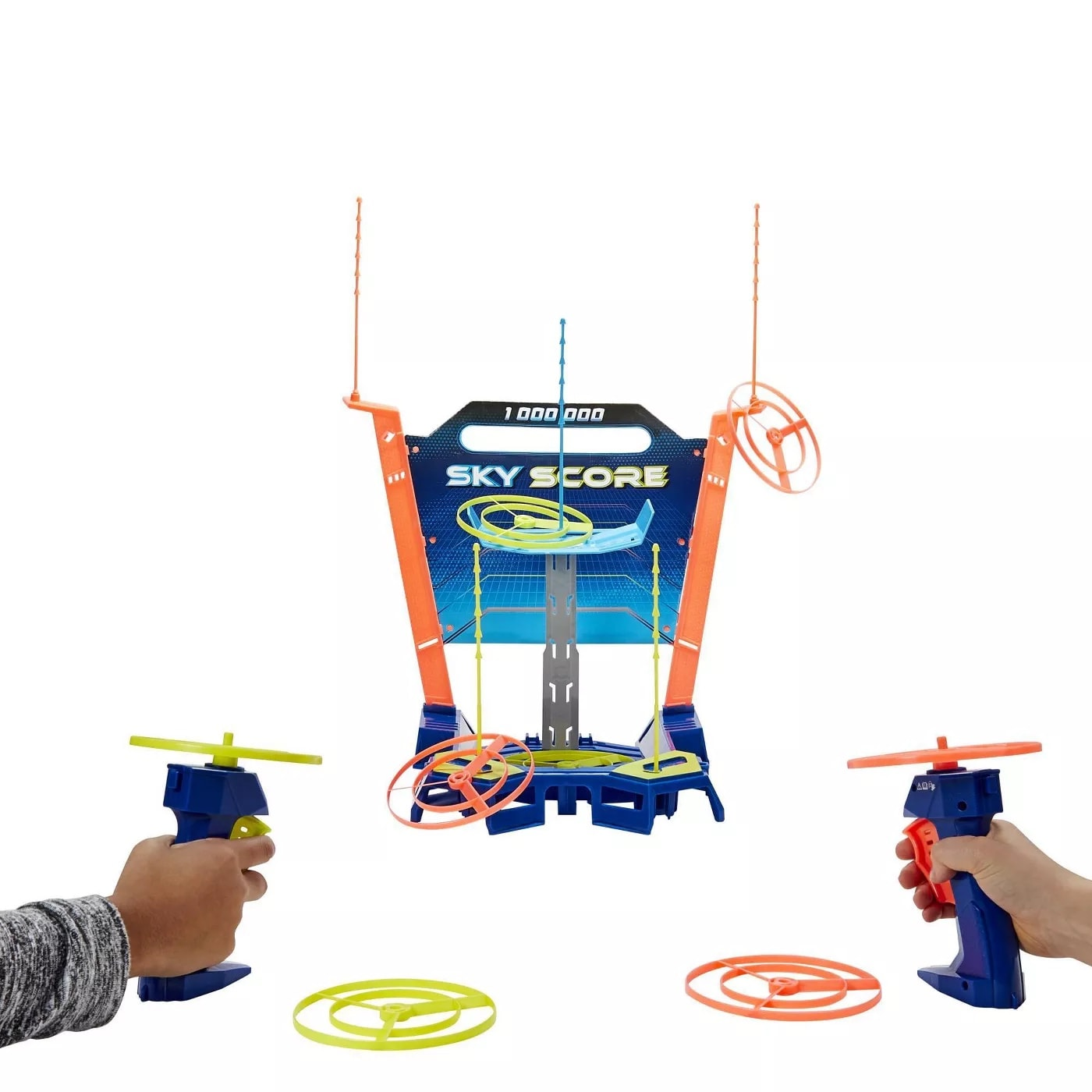 Sky Score Game Hasbro unit showing game play in action