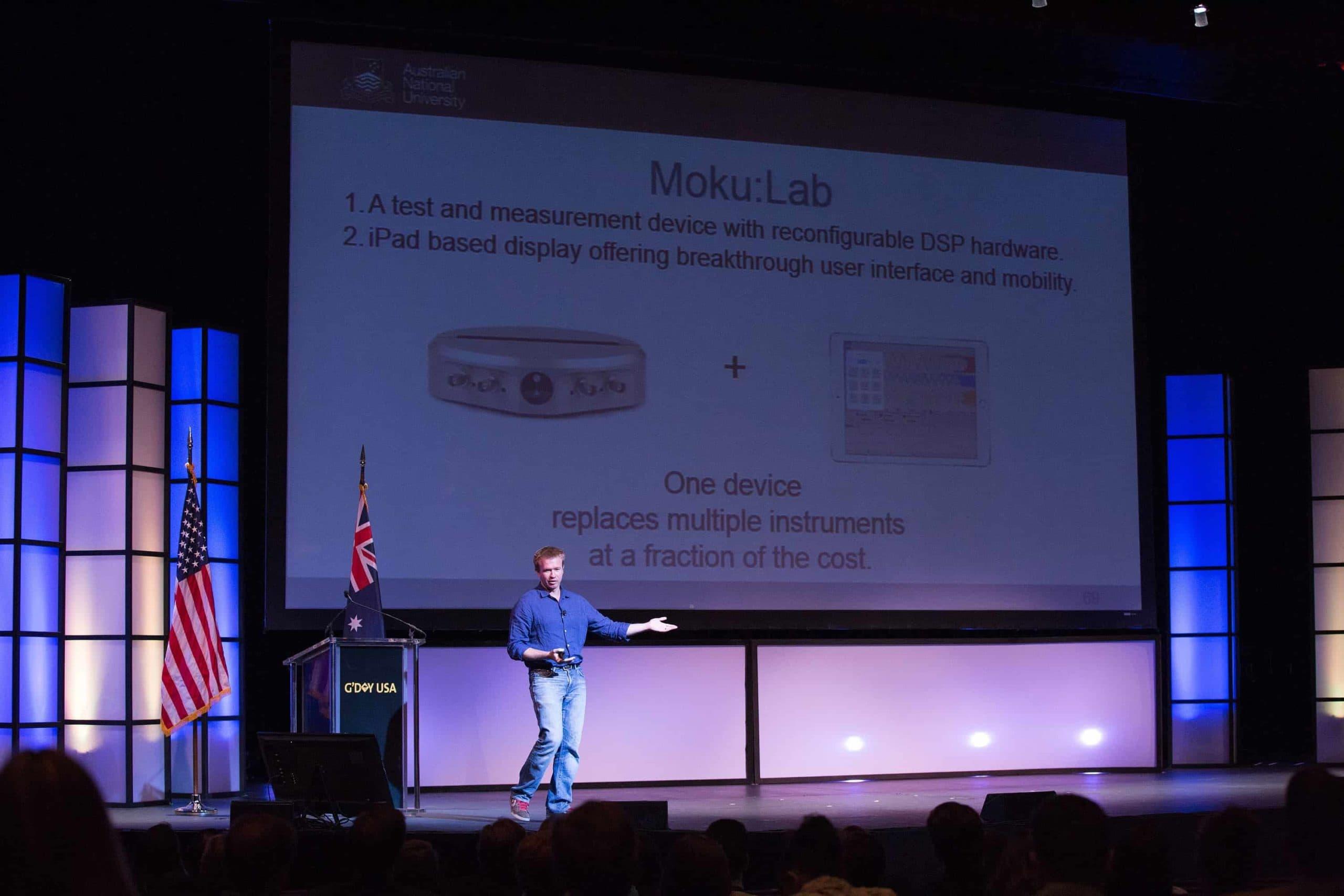 Innovators Xchange 2016 G'Day USA - Moku:Lab